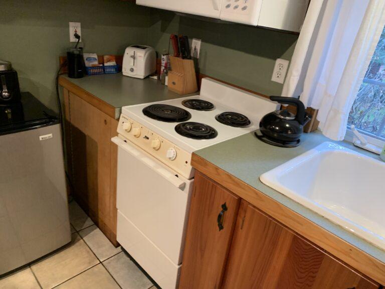 Kitchen in Art Studio