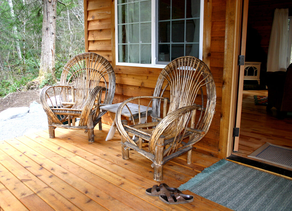 Dream Weaver front porch