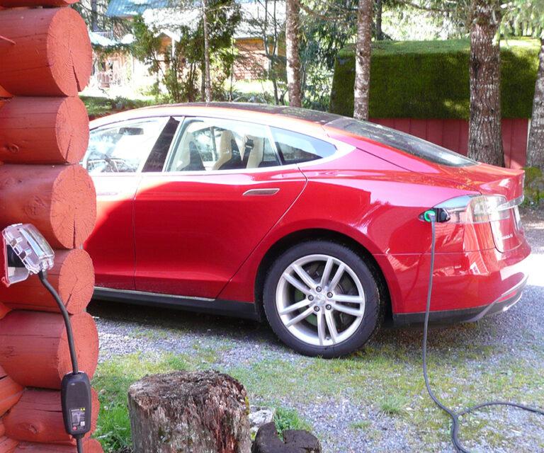EV charge plug