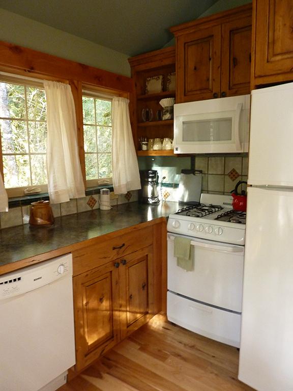 Kitchen at Muir Cabin