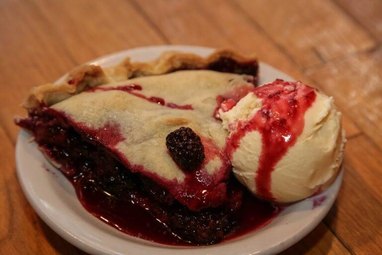 Our Famous Blackberry Pie