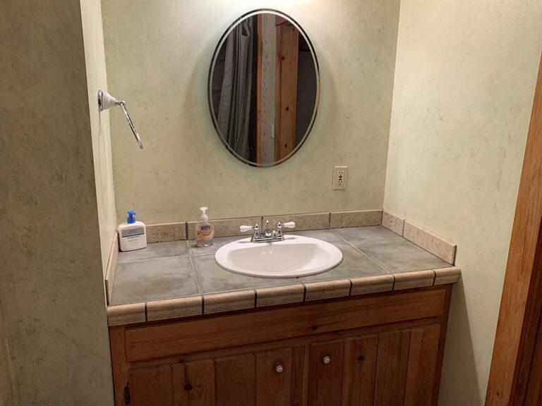 Roselea's bathroom