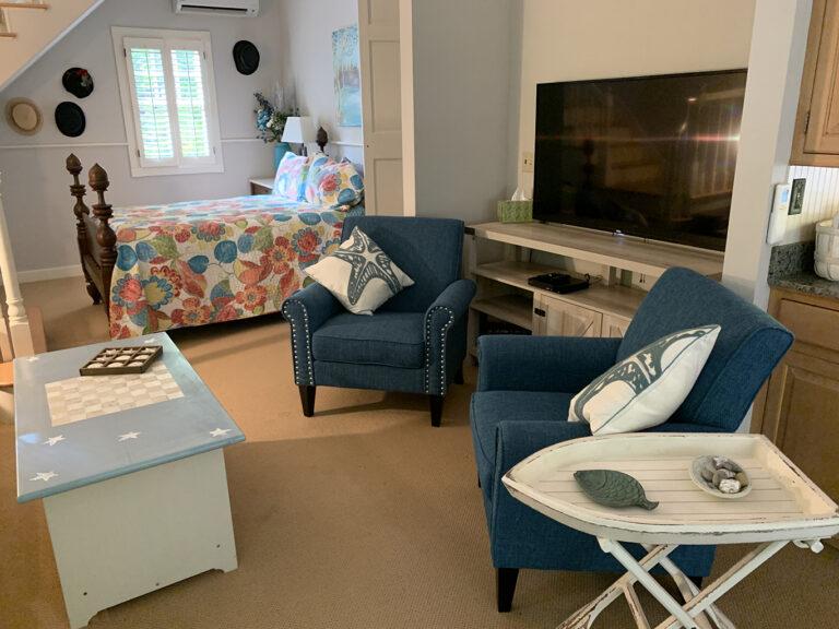 Living room - large flat screen TV